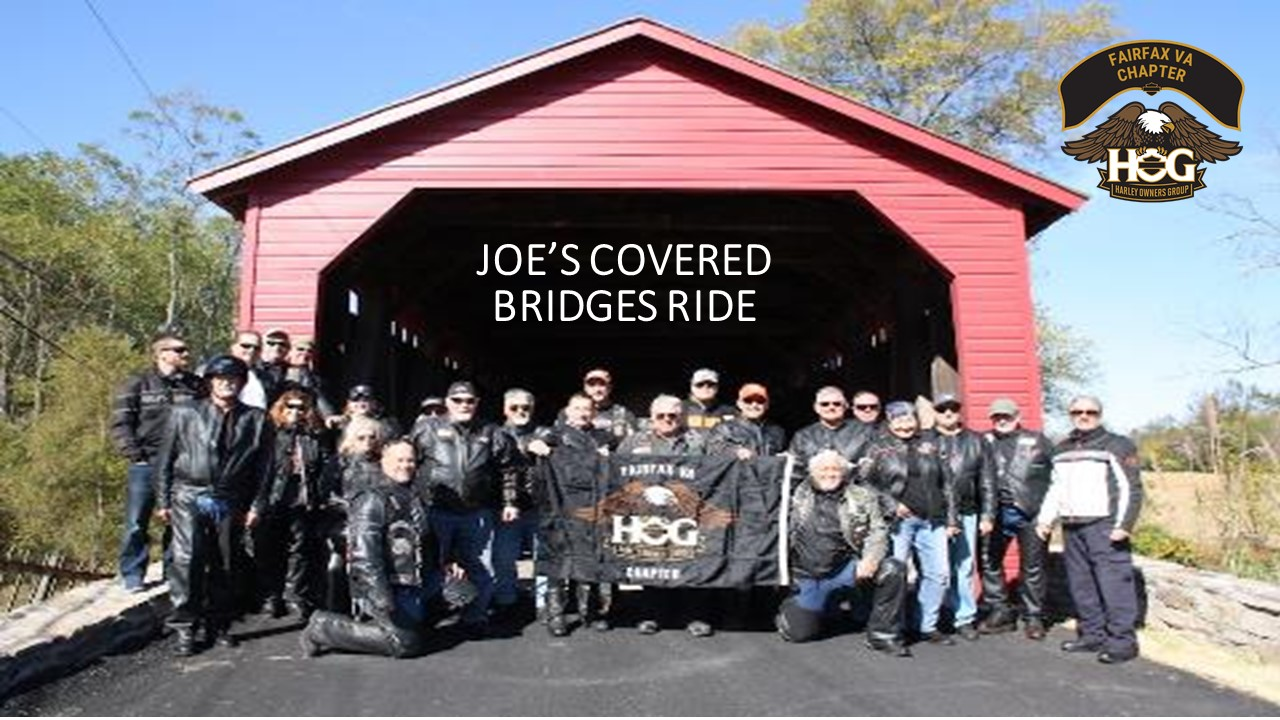 Joe's Covered Bridges Ride