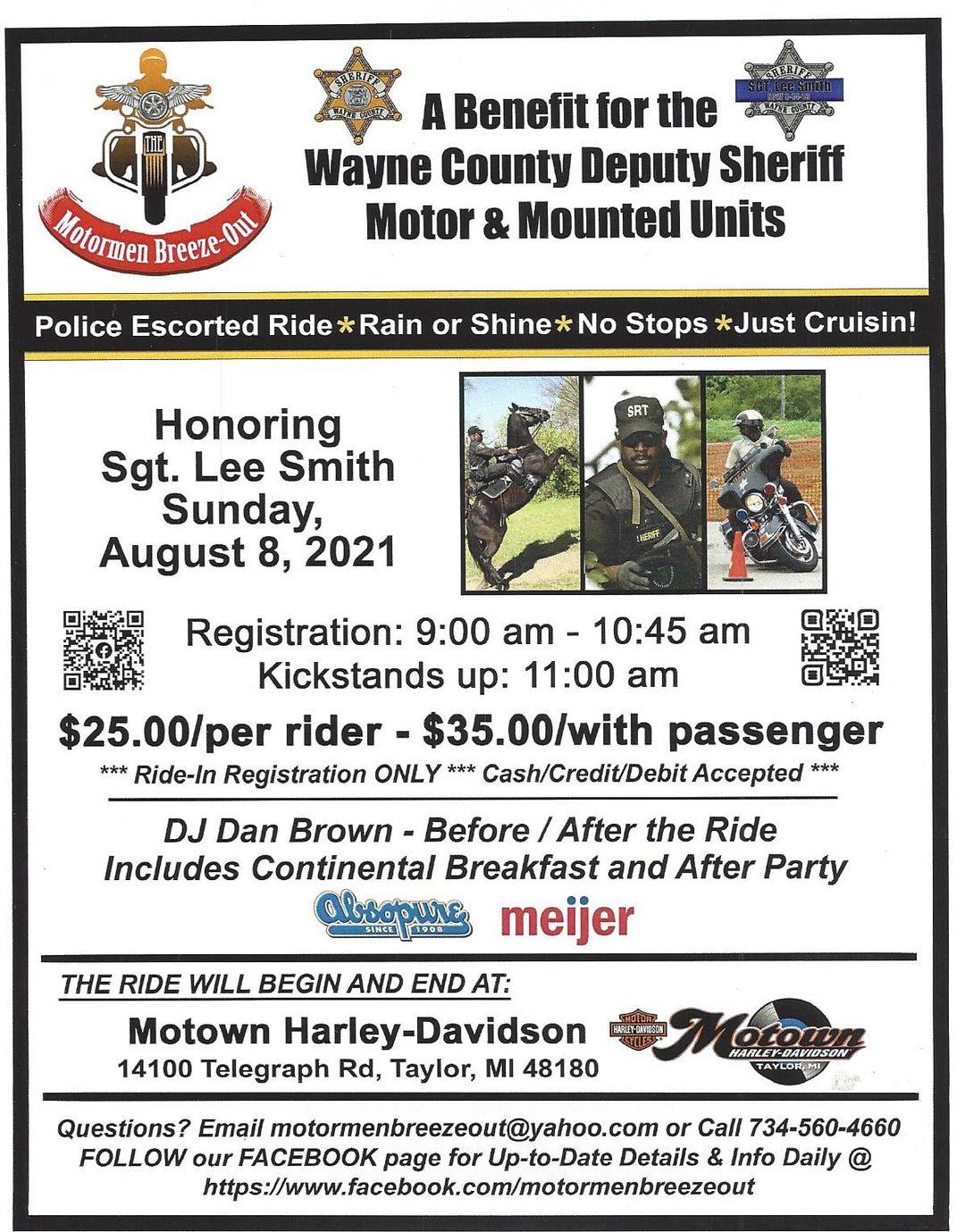 Lee Smith Memorial Ride